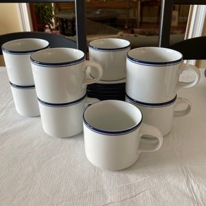 Dansk Cups and Saucers